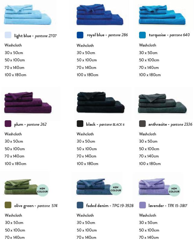 strandlakens en handdoeken 450 gr\m2