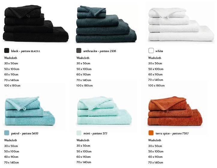 strandlakens en handdoeken 550 gr\m2